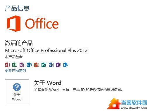 已经激活的Office 2013